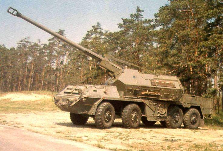 Slovakia army 867 - 155mm samohybná kanónová húfnica vz. 2000 Zuzana - Wikipédia