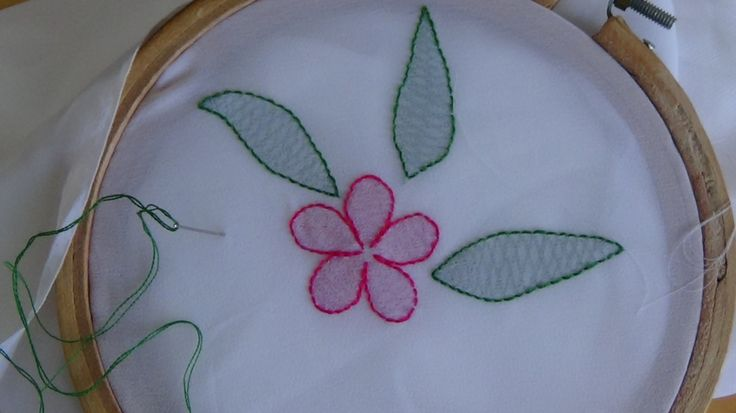 Hand Embroidery: Shadow Work Stitch - YouTube