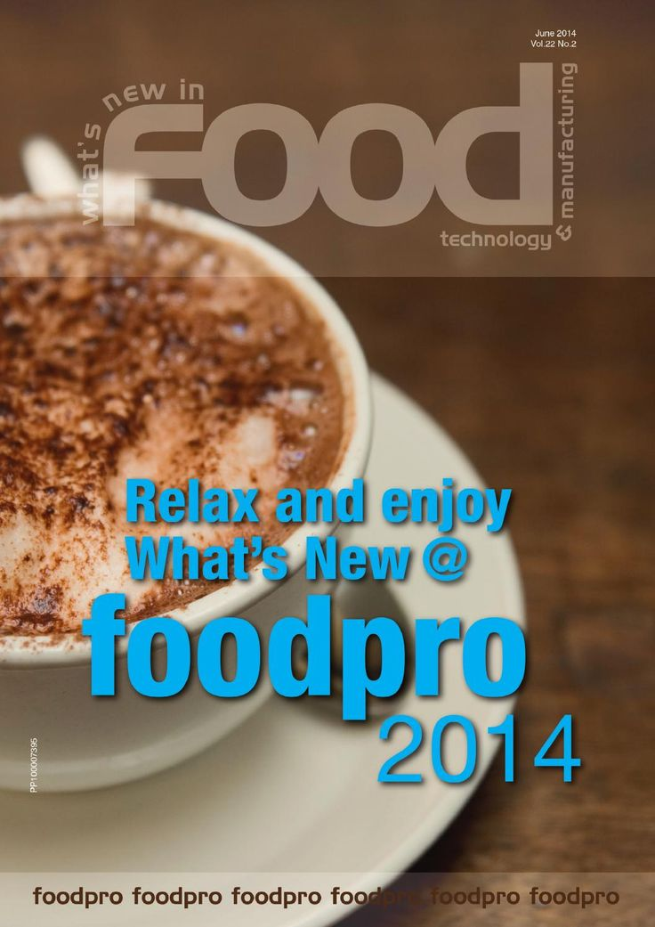 WNIFT Foodpro June 2014 new products and technology developments from companies supplying and servicing the food and beverage industry. The magazine covers bulk handling, storage and logistics, processing, packaging and food product design. If you work in the food industry this magazine is for you  »  http://issuu.com/westwick-farrowmedia/stacks/12874c9e702d4b9994903cf13e0c904b