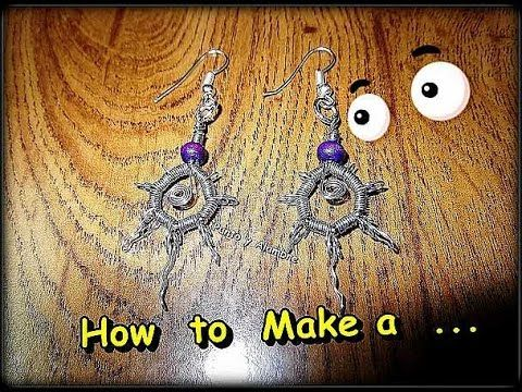 "Como Hacer ""Pendientes Hippies"" // How to Make a""Hippies Earrings"" - By ..."