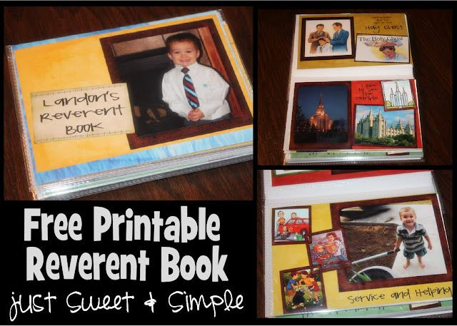 """I really like the idea of this reverent book rather than soft toys or even a """"quiet"""" book that doesn't relate to the service.  However, since we are definitely not LDS, we would have to change a whole lot of this.  So, I'm repinning as a place holder for an idea.  We have a child's book about the mass, but I like this with the pictures, so I might adapt a little of both of them."""