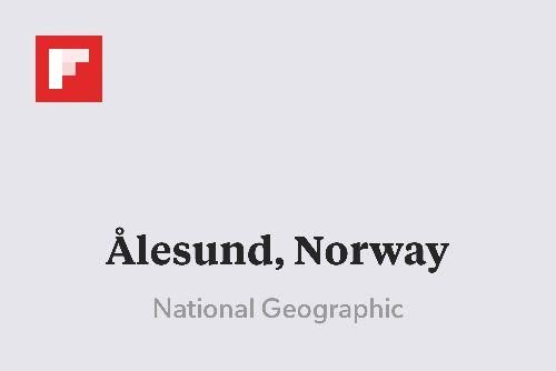 Ålesund, Norway http://flip.it/00o5n