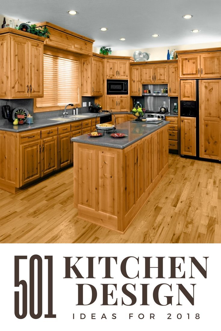 This is it if you like kitchens with lots of natural wood youull