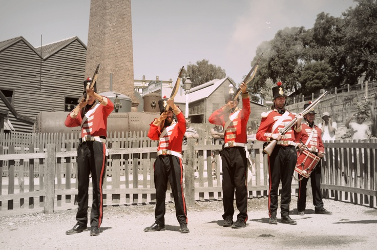 The red coats at Sovereign Hill ...by Eveolv Photography