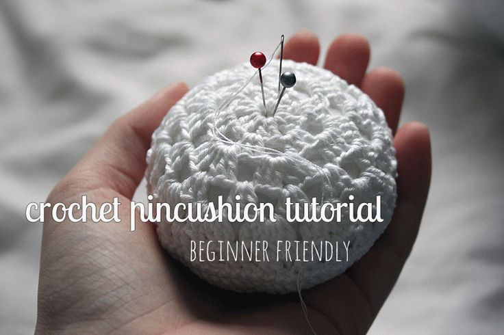 Beginner-friendly crochet pincushion tutorial, on Crafting Fingers, thanks so for share xox