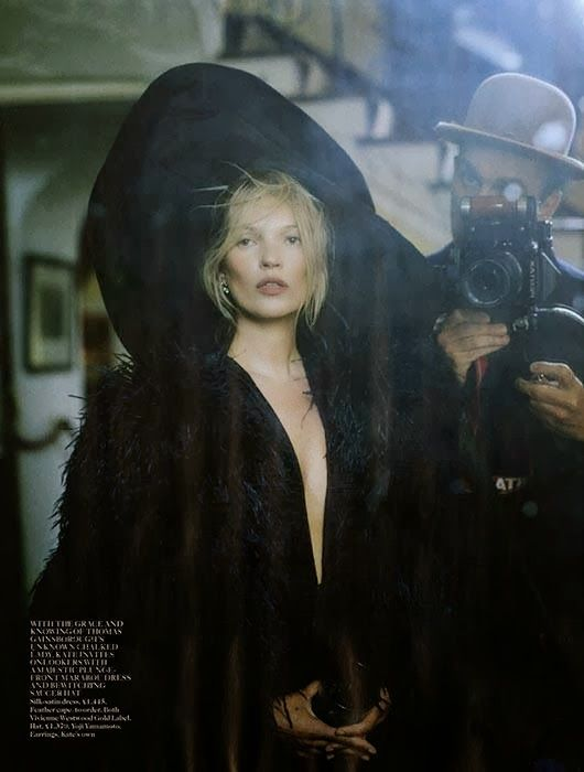 """Made in Britain"": Kate Moss, and Some John Galliano, by Tim Walker for Vogue UK December 2013"