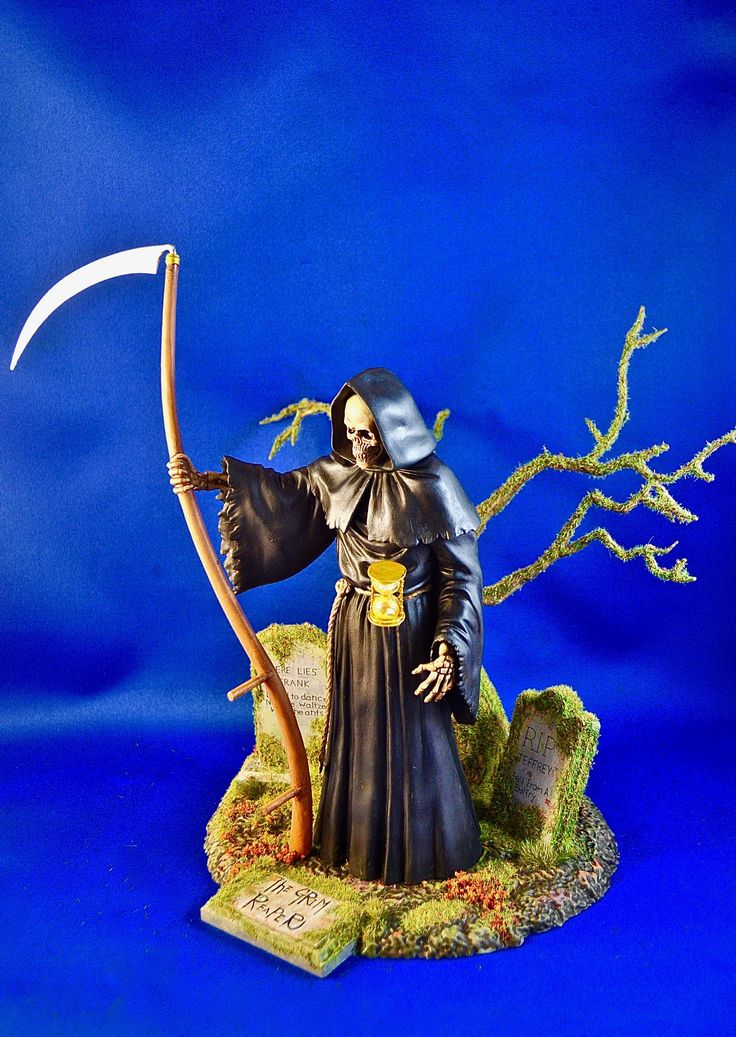 Side view of THE GRIM REAPER.  Photo and build-up by Stan G. Hyde.