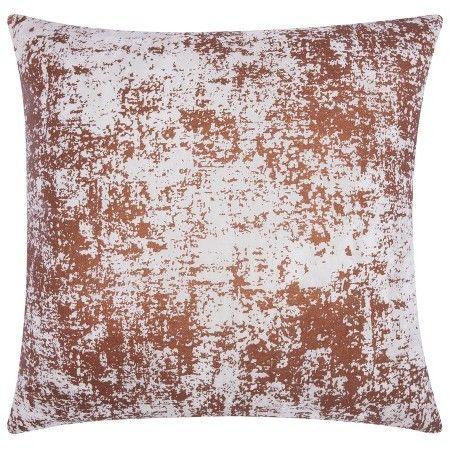 Mina Victory Distressed Metallic Throw Pillow