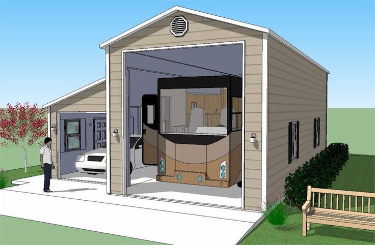 Best 25 rv garage ideas on pinterest rv garage plans for Rv storage garage