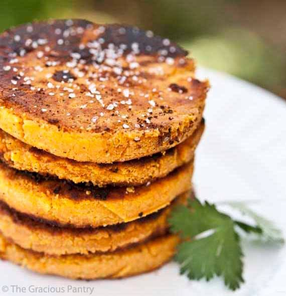 Ashy Bines - Clean Eating Sweet Potato Cakes ( Big thanks to The gracious Pantry for inspiration! )