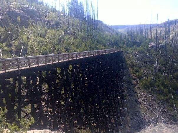 Kettle Valley Railroad - Kelowna
