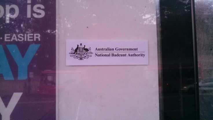 Hmmm not sure if this is an authorizes Govt sticker