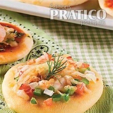 Duo de mini-pizzas - Recettes - Cuisine et nutrition - Pratico Pratique