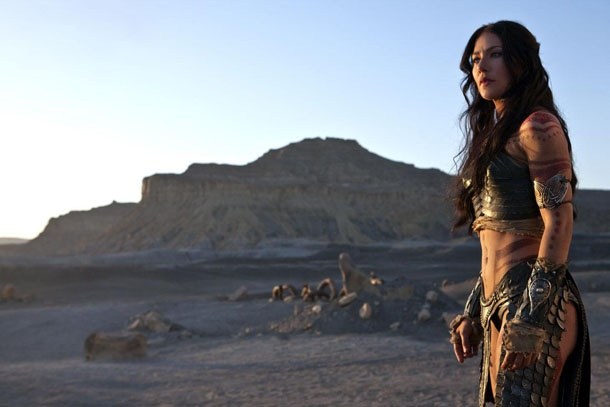 Dejah Thoris, a Princess of Mars (bad-ass, but not green!)
