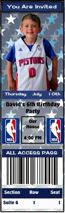 NBA Ticket Invites
