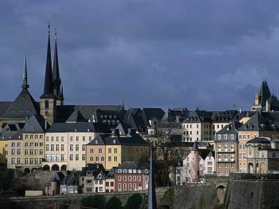 luxembourg. odd little place. we spent the night here.