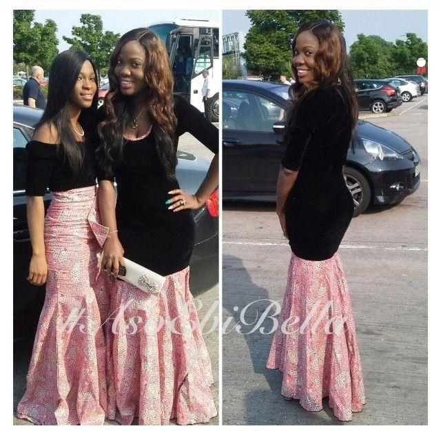 Nigerian wedding dress african attire and nigerian fashion on