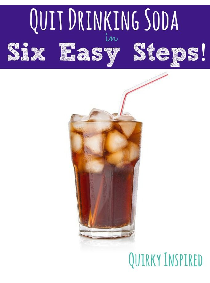 May 11,  · 13 Ways to Stop Drinking Soda for Good. Pin. More View All Start at best, but several studies That news may be enough to convince you that you should stop drinking soda, but it .