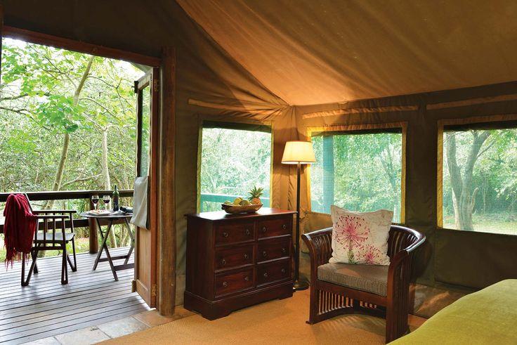 #Falaza luxury tent interior http://falaza.co.za/
