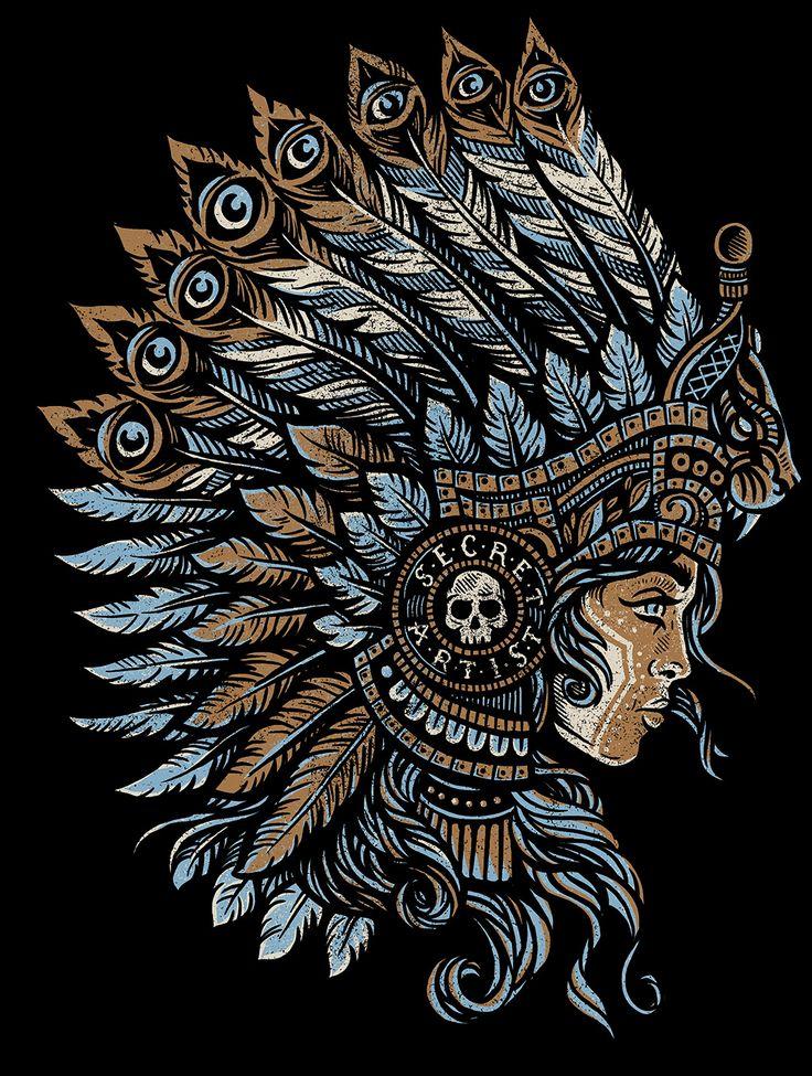 Mayan Princess - Secret Artist by Derrick Castle