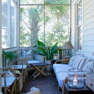Ladies Street - beach-style - Porch - Jacksonville - Starr Sanford Design