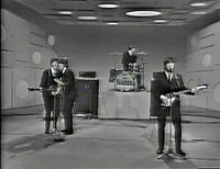 The Ed Sullivan Show - The Beatles appeared on 3 consecutive Sundays in February of 1964 and from than on we were enthralled with John, George, Ringo and Paul. Pat Schwab