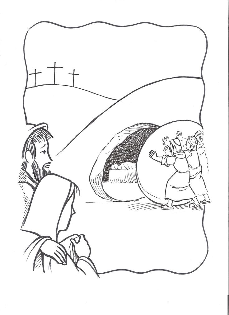 grave coloring pages - 1000 images about done sunday school at home on pinterest
