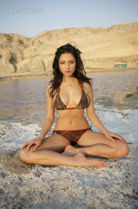 Jessica Gomes - Sports Illustrated Swimsuit 2008 - Location: Dead Sea, Israel, Israel - Collection: Rookies