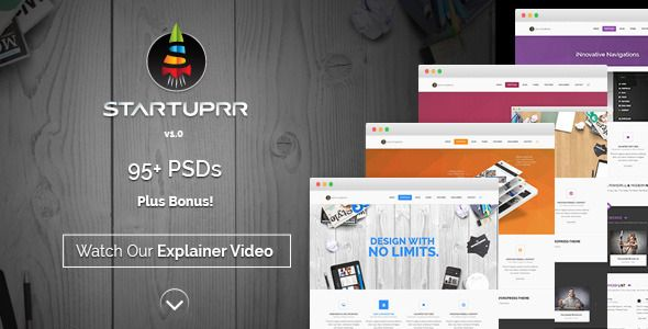 StartUprr – Multi-Purpose PSD Template