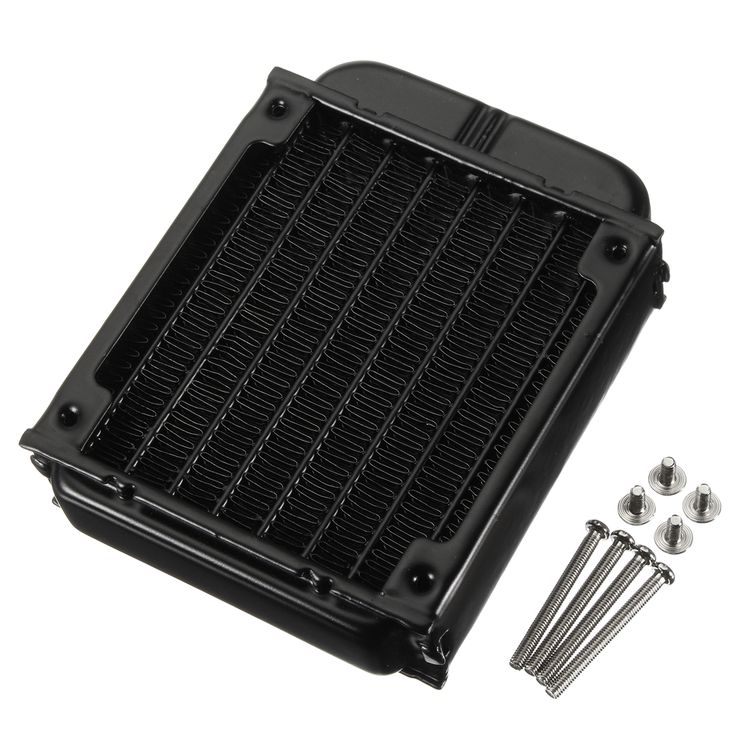 80mm Aluminum Computer Radiator Water Cooling Cooler Fans for CPU Heat Sink