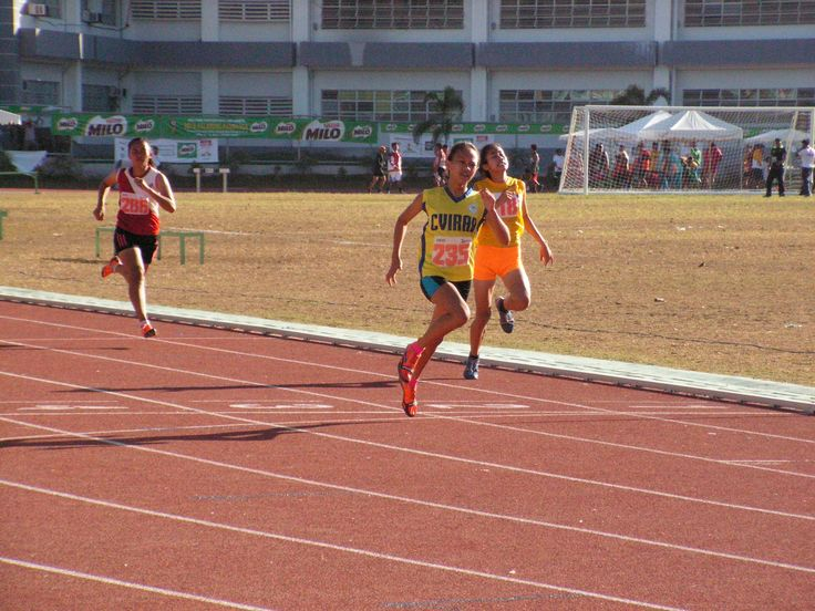 Airnel T. Abarra for PinoyAthletics  LEGAZPI CITY, Albay. Central Visayas Region's Samantha Limos adds another medal in the Queen City golden haul as she stride to victory by ruling the 100m dash secondary girls during the 2016 Palarong Pambansa here at the Albay Sports and Tourism Complex, Bicol University, Legazpi City, Albay on 13-April.   #Albay #Arabella #Armed Forces of the Philippines #Armin Luistro #Average Joe #Billboard Hot 100 #BMW #Canada #Catholic Church #Ceb