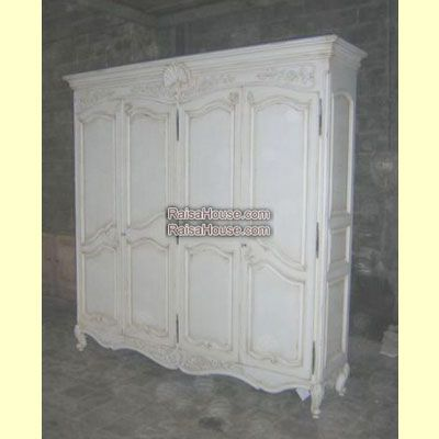 4 Doors French Armoire with Wooden Doors Refrence : RAR 015 4D WD Dimension : 235 x 55 x 230 cm Material : #WoodenMahogany Finishing : #Custom Buy this #Armoire for your #homeluxury, your #hotelproject, your #apartmentproject, your #officeproject or your #cafeproject with #wholesalefurniture price and 100% #exporterfurniture. This #4DoorsFrenchArmoirewithWoodenDoors has a #highquality of #AntiqueFurniture #WholesaleFurniture #FurnitureManufacturer #ReproductionFurniture #FurnitureWarehouse