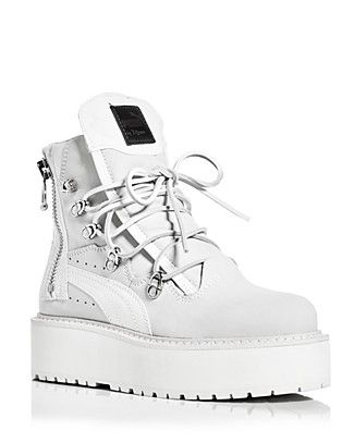 FENTY Puma x Rihanna Women's Platform Sneaker Boots