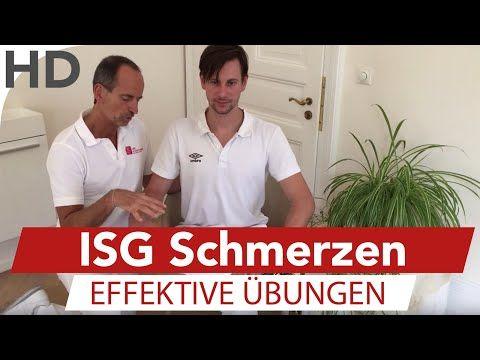 ISG Schmerzen // Übungen gegen Iliosakralgelenk Schmerzen