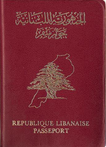Lebanon - Pasaporte
