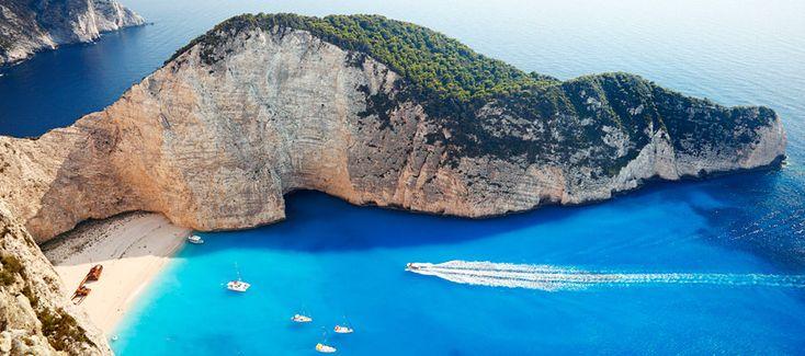 Griechenland Zakynthos Shipwreck Beach