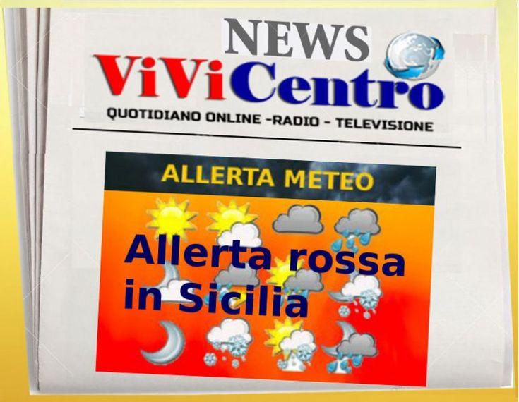 Allerta rossa in Sicilia, esonda torrente nel Palermitano, morto 1 uomo. Scuole chiuse