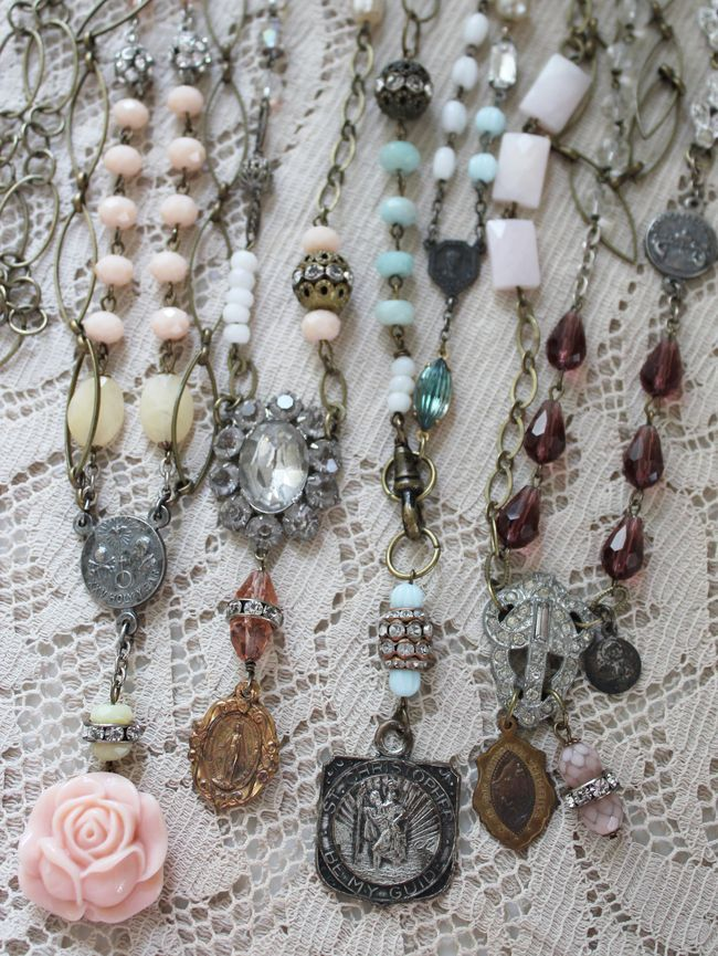 Vintage Trinket Necklaces