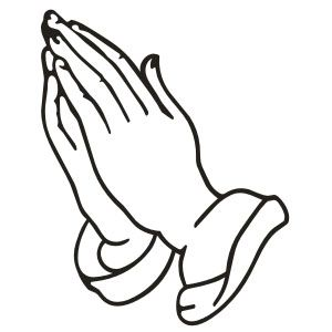 Praying Hands Decal Sticker - ClipArt Best - ClipArt Best