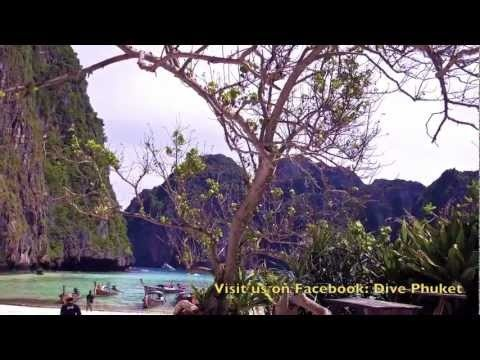 "Phi Phi Island snorkeling day trip Tour to Maya Bay 2012 ""The Beach"" Amazing clear Blue waters"
