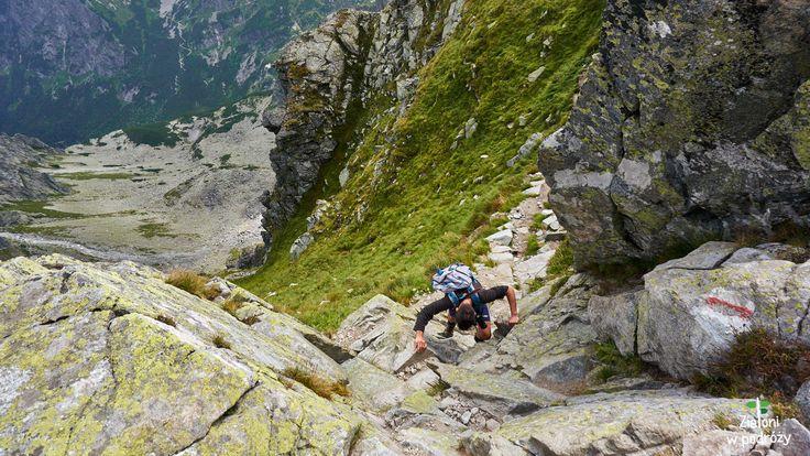 Orla Perć - the most difficult trailf in Polish Tatras