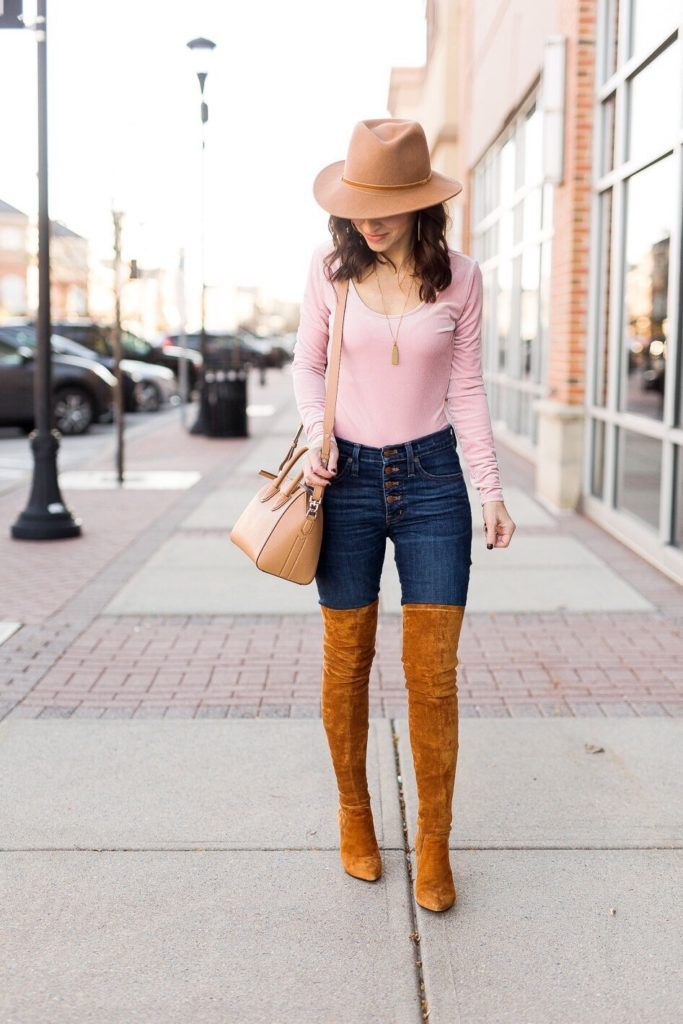 Fall Finds With Simon Malls Boot Overknee Camel Pinterest