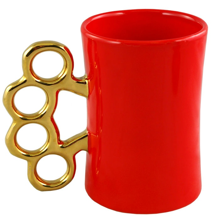knuckles mug: Cup, Pad Outdoor S, Glass, Outdoor S Gold, Gold Knuckles, Mugs
