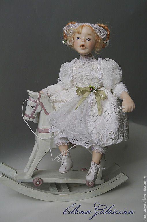 """Купить Кукла """" Знак зодиака Овен"""" - белый, кукла, коллекционная кукла, авторская кукла"""