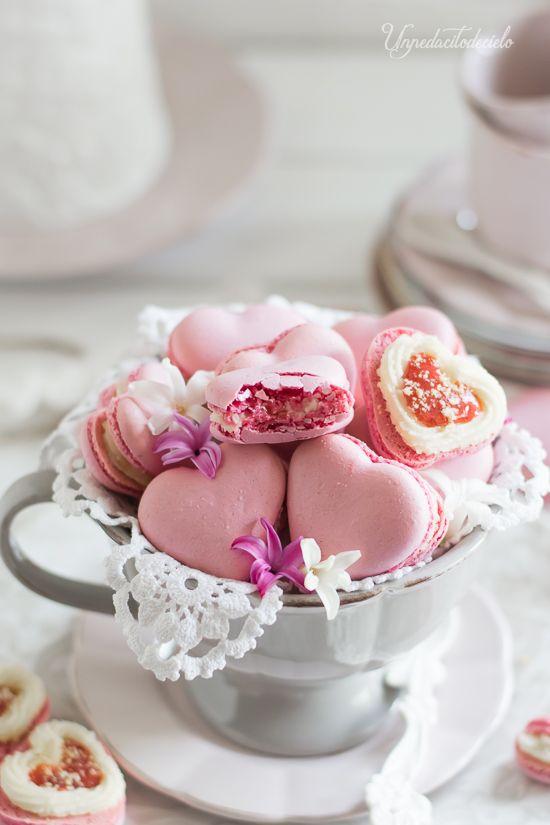 un pedacito de cielo: Macaron de Cheesecake