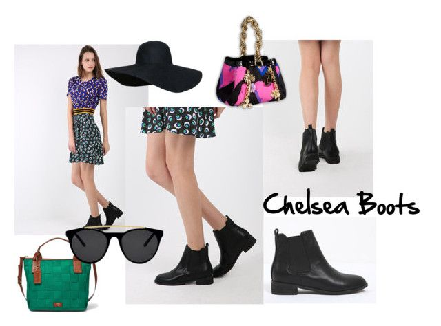 """FYVFYV_Chelsea Boots"" by fyvfyv on Polyvore"