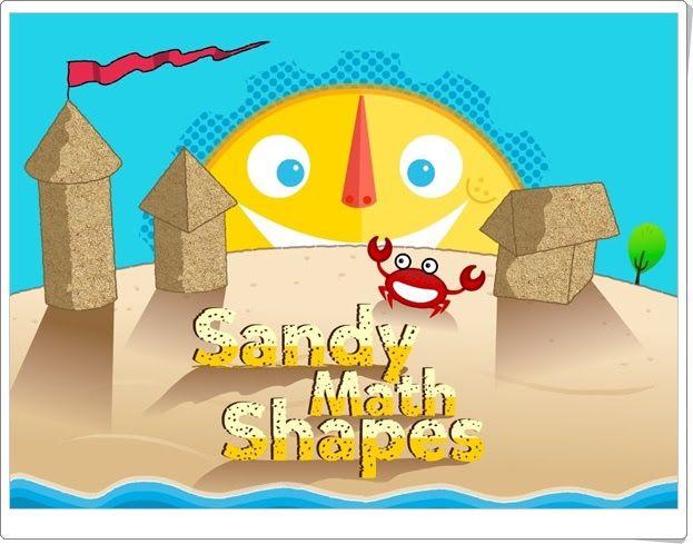 """""""Sandy Math Shapes"""" (Juego de Cuerpos Geométricos)"""