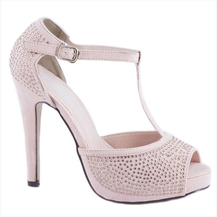 Sandale cu toc 690-1R - Reducere 50% - Zibra