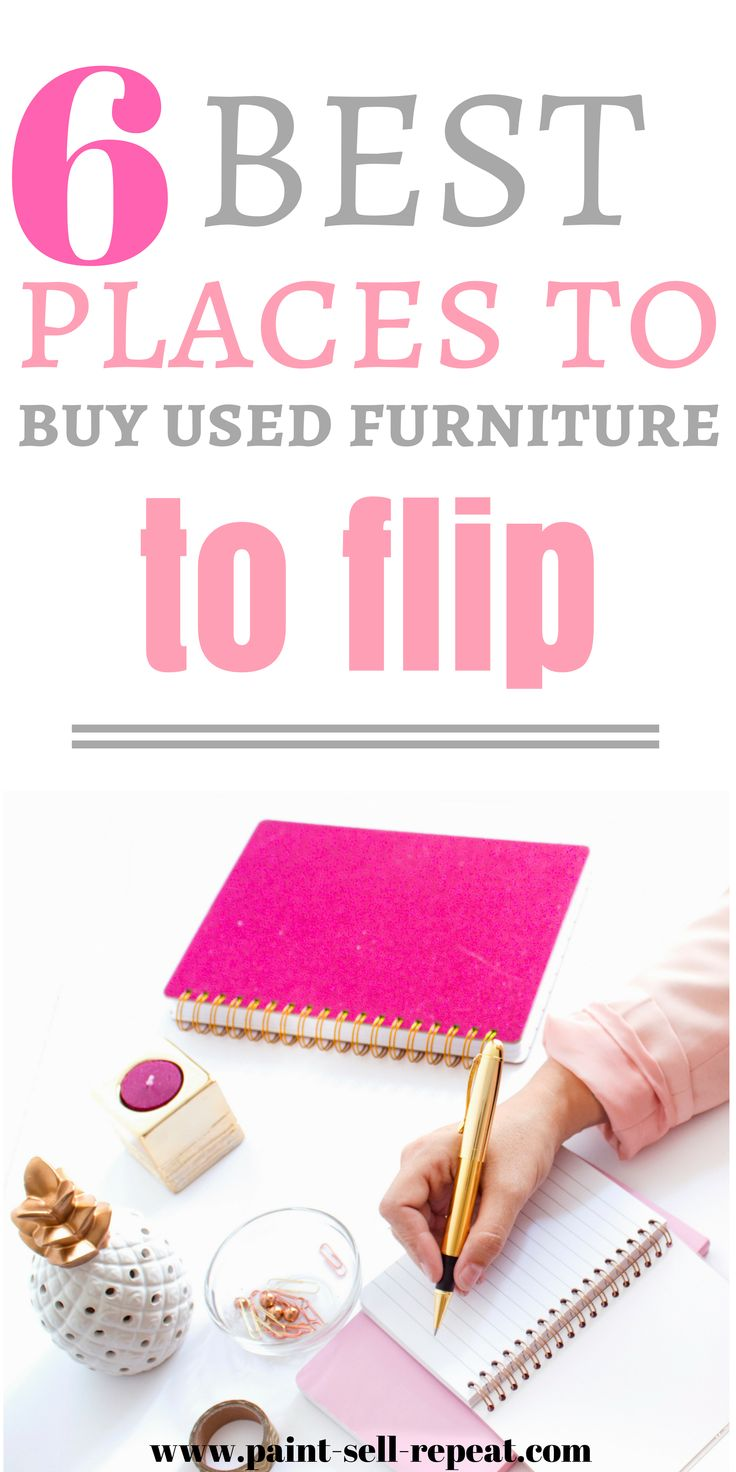 Are you looking for the best places to buy used furniture that you can flip? Thi...