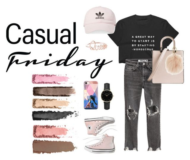 Woman Casual Friday by creative-esprecielo on Polyvore featuring Madewell, ROSEFIELD, adidas, Casetify and Furla